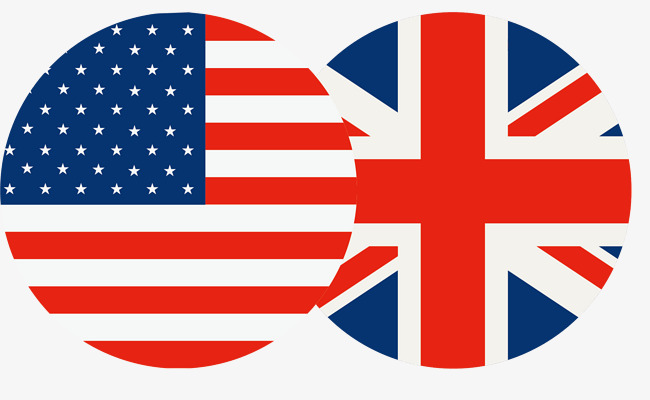650x400 Britain And The Us Flag, Flag Vector, Round, Stars And Stripes Png