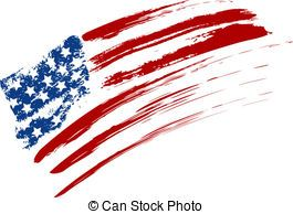 265x194 Us Flag Grunge Vector Clipart Illustrations. 997 Us Flag Grunge
