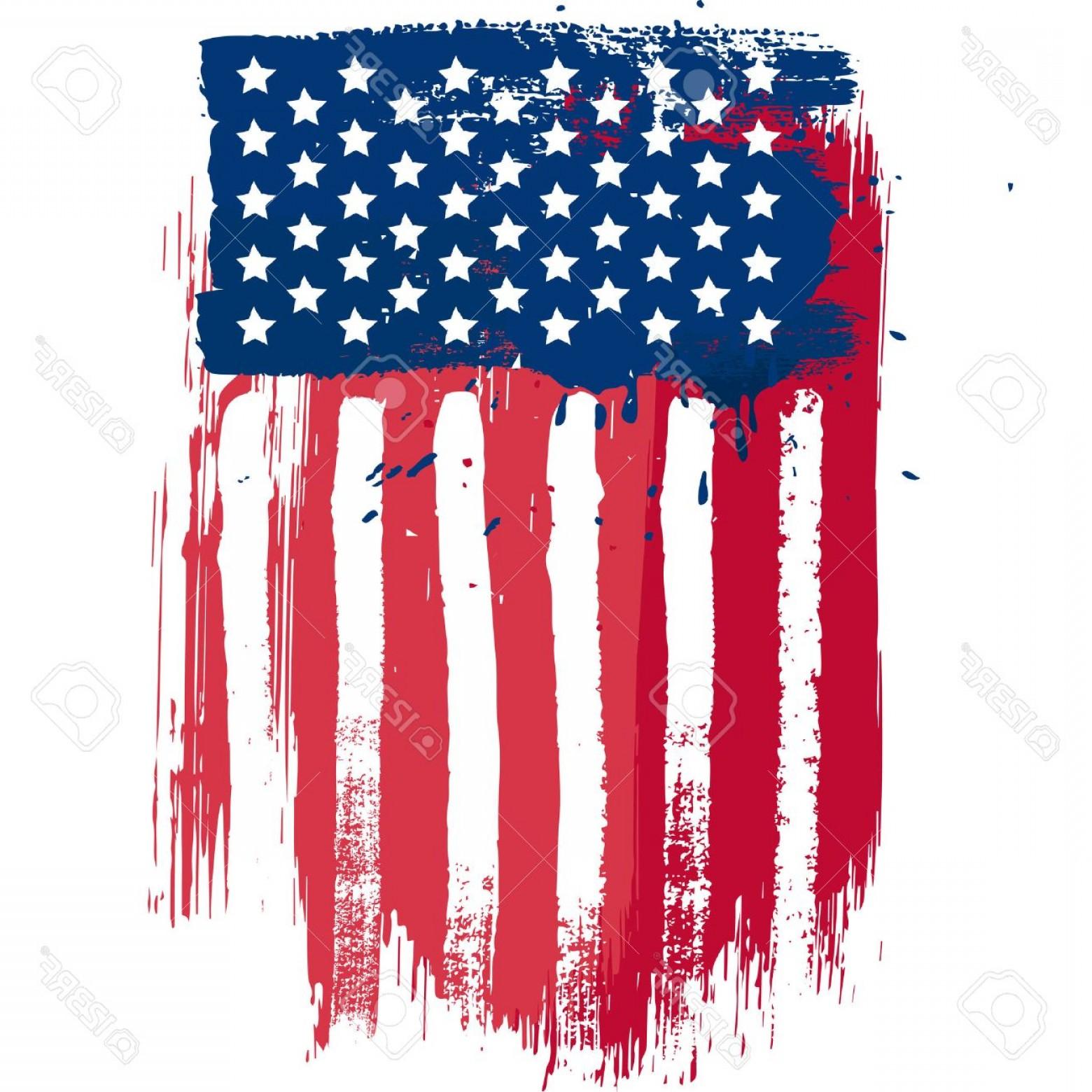 1560x1560 Photostock Vector Vertical Composition Vector American Flag In