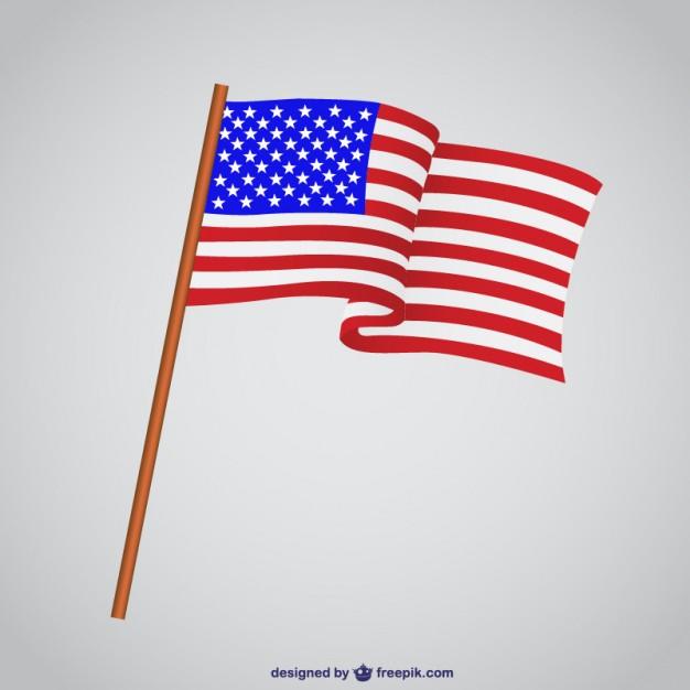 626x626 Usa Flag Waving Vector Free Download