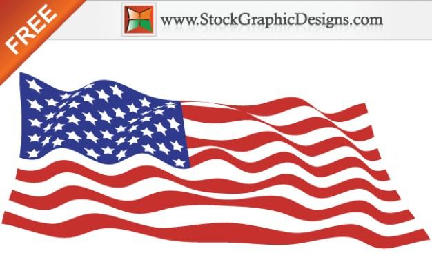 626x380 American Flag Free Vectors