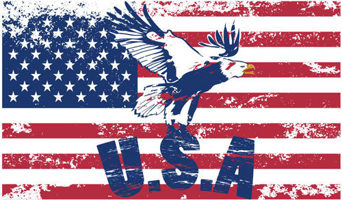 Us Flag Vector Free Download