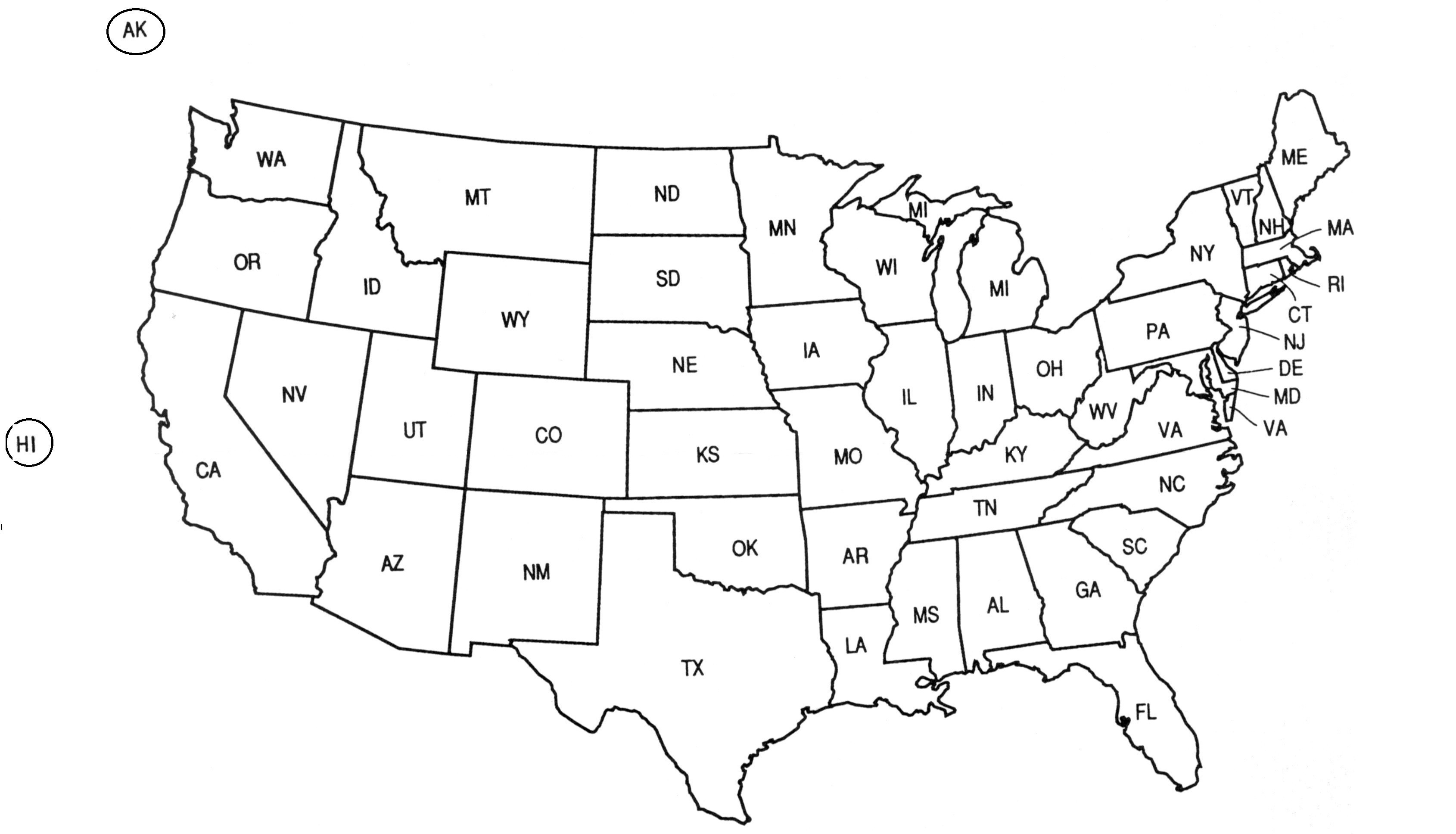 Us Map Vector Ai at GetDrawings.com | Free for personal use Us Map ...