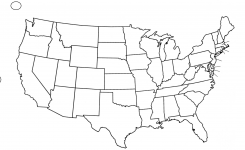 245x150 Blank Us Map Vector Simplified Map Of Us States Us Map Vector