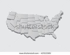 Us Map Vector Art