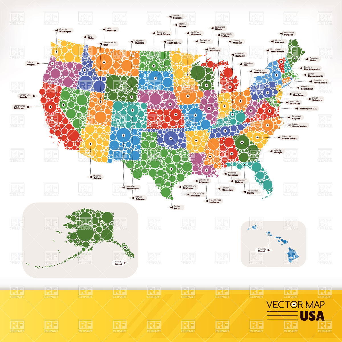 Us Map Vector Art at GetDrawings.com | Free for personal use ...