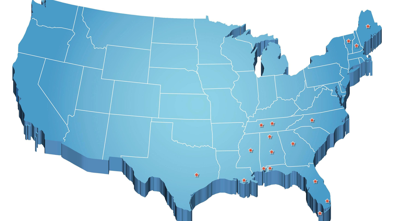 2880x1619 Free Adobe Illustrator Us Map Save Map The Us State Ohio Stock