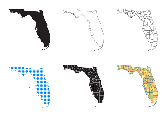 700x490 Map Of Florida Map Of Florida Florida Map Vector Download Free