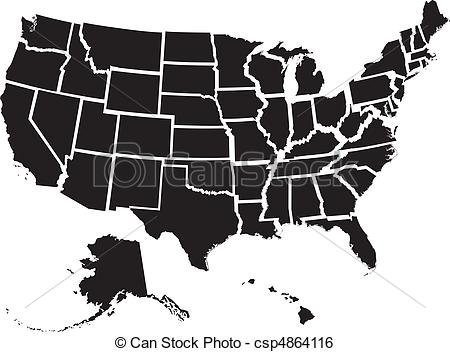 The best free Us map vector images. Download from 6874 free ...