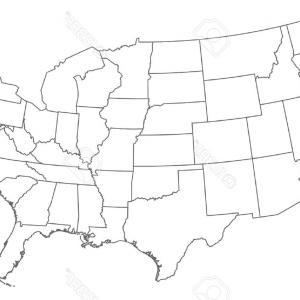300x300 Us Map Black And White Outline Sohadacouri