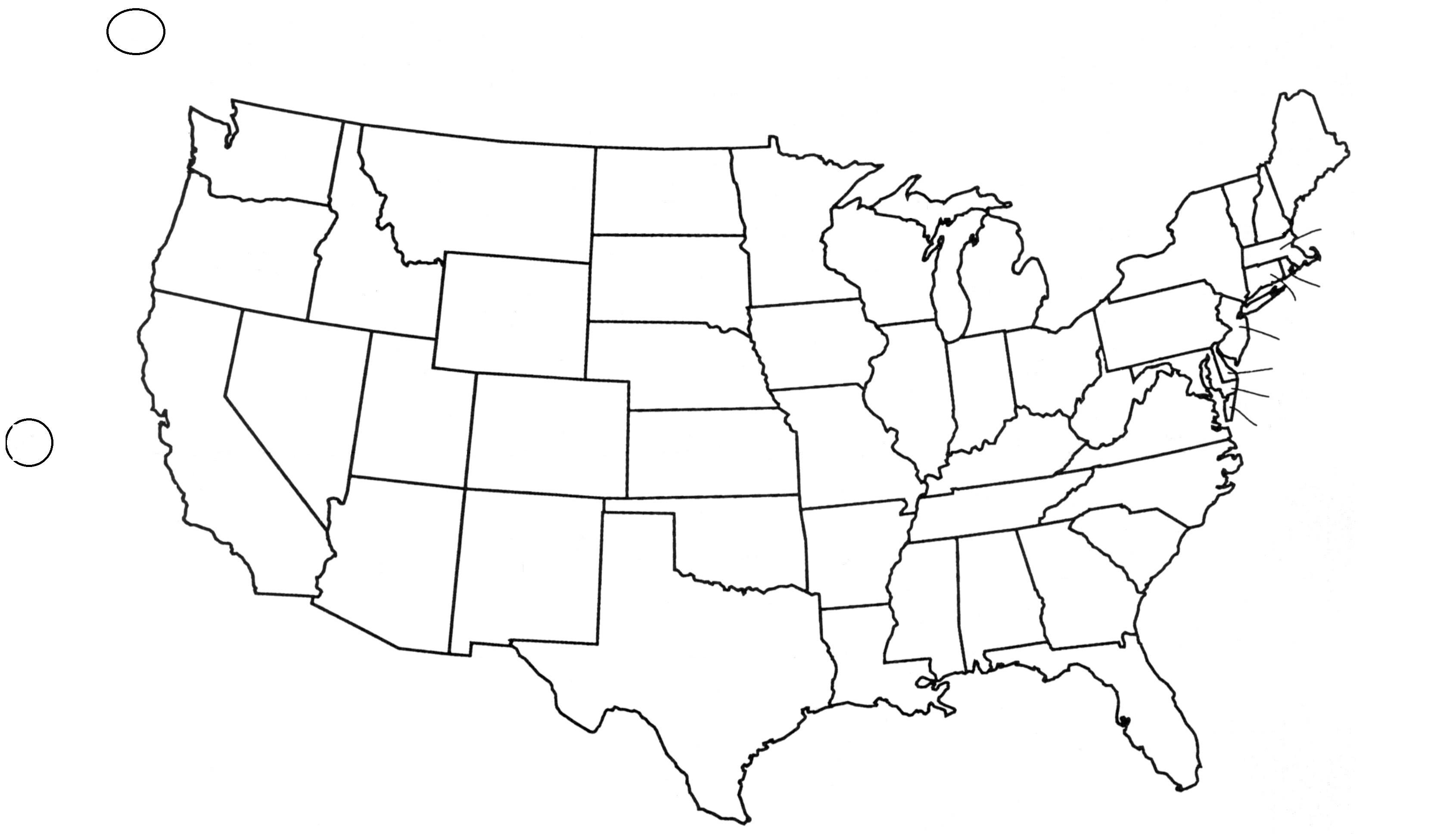 3380x1936 Us Map Vector 48647 All Silhouette