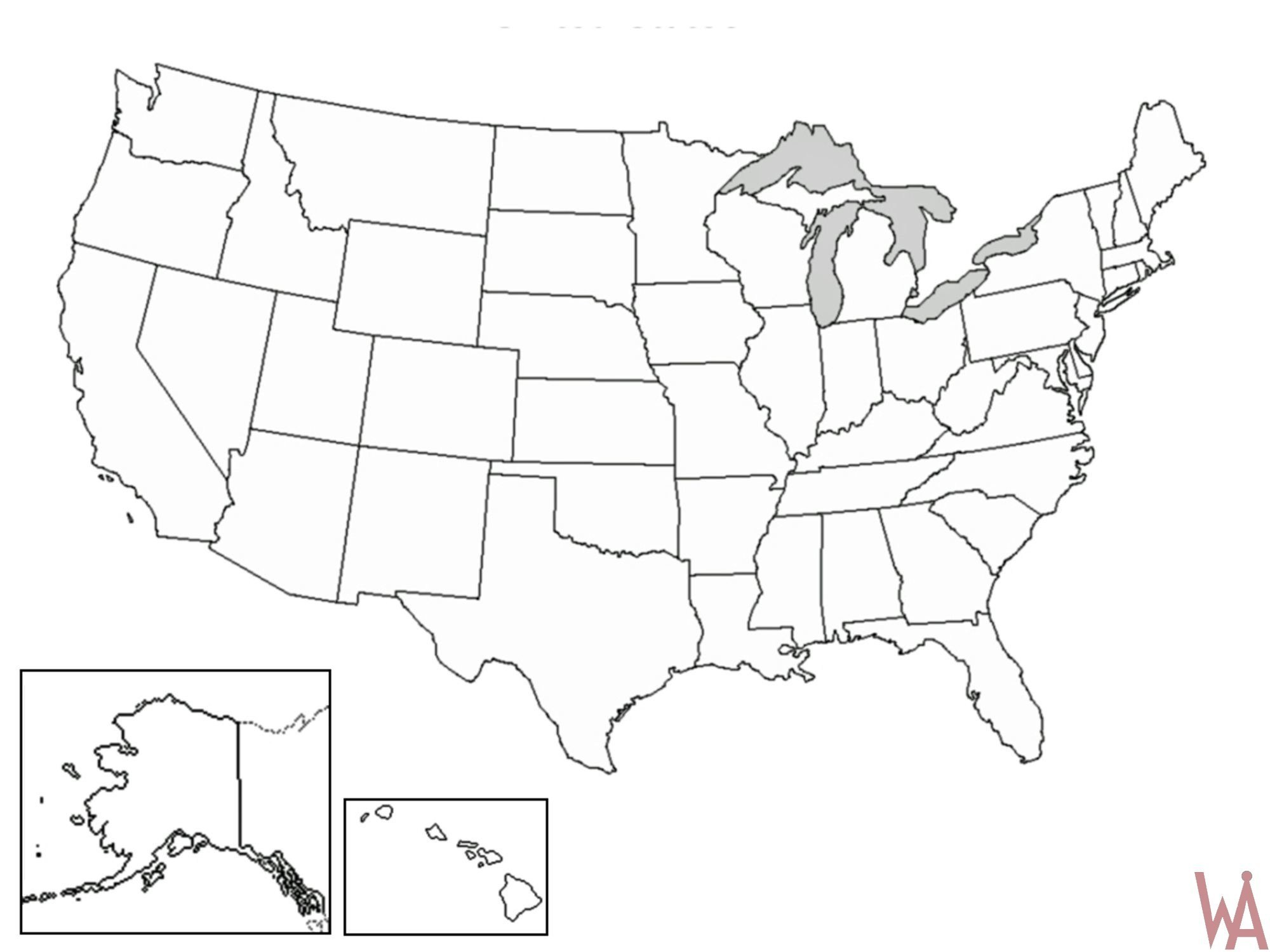 Us Map Vector Outline at GetDrawings.com | Free for personal use Us ...
