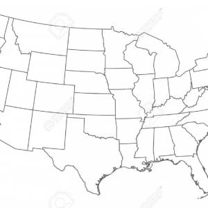 300x300 Vector Graphics Us Map Blank Usa Outline Map United States Fresh