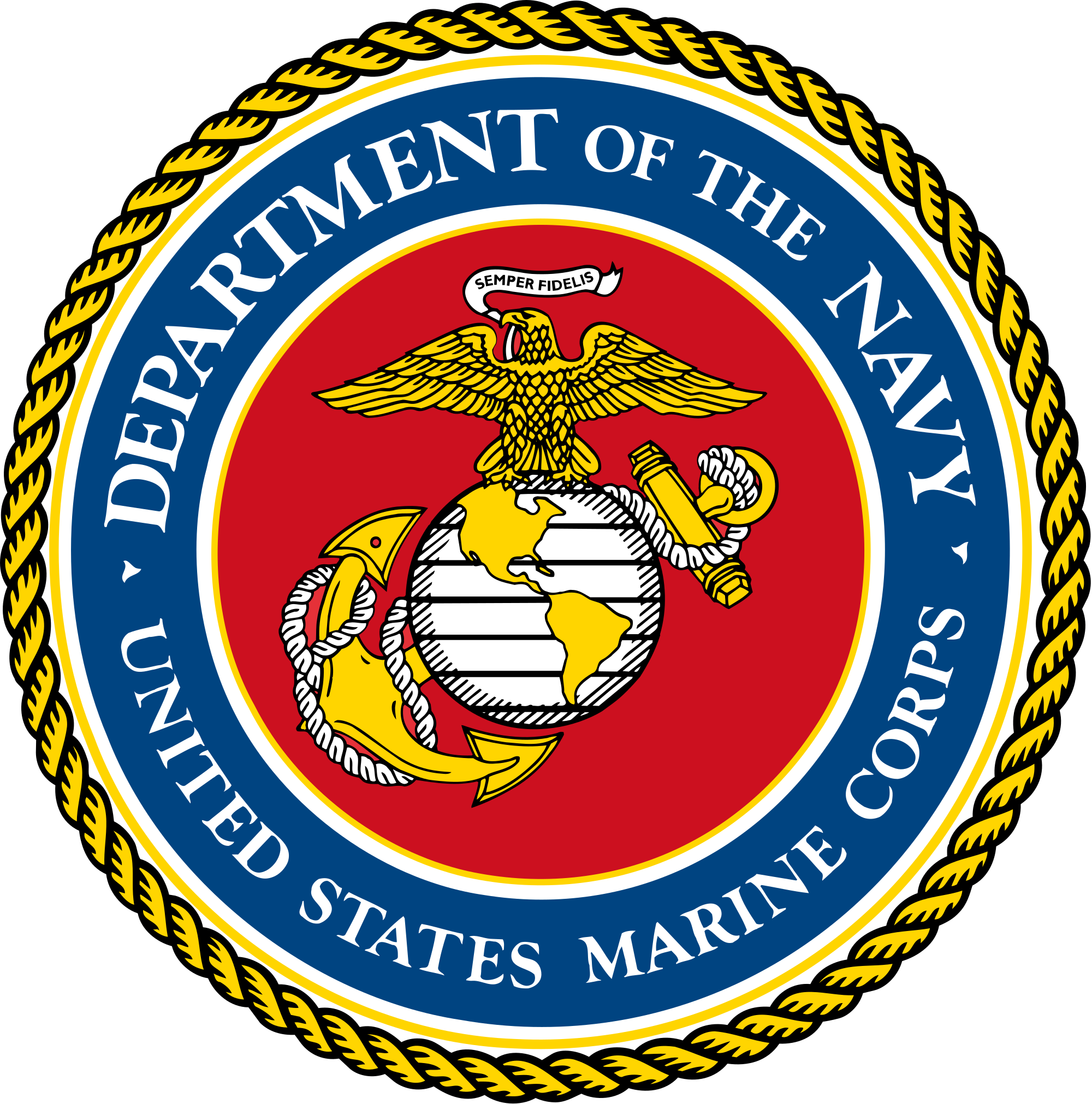 2000x2023 Fileseal Of The United States Marine Corps.svg