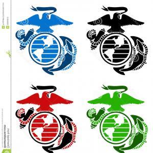 300x300 Stock Photos Us Marines Emblem Vector Four Color Image Shopatcloth