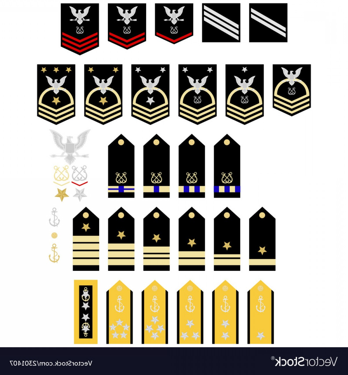 1200x1296 Insignia Of The Us Navy Vector Shopatcloth