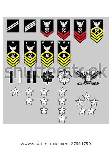 360x470 Us Navy Rank Insignia For Officers And Enlisted In Vector Format