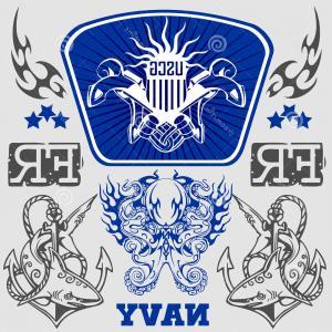 300x300 Doodle Us Military Wreath Navy Vector Sohadacouri