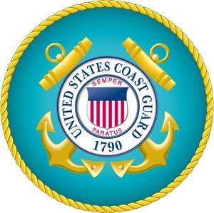 300x299 Us Coast Guard Seal Logo Vector (.eps) Free Download