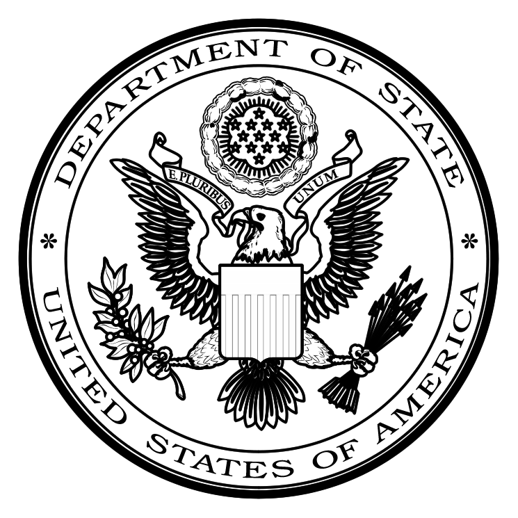 745x745 Us Department Of State 1 Free Vector 4vector