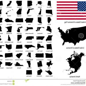 300x300 Usa Map Shapes Of Us States Vectors Usa States Shopatcloth