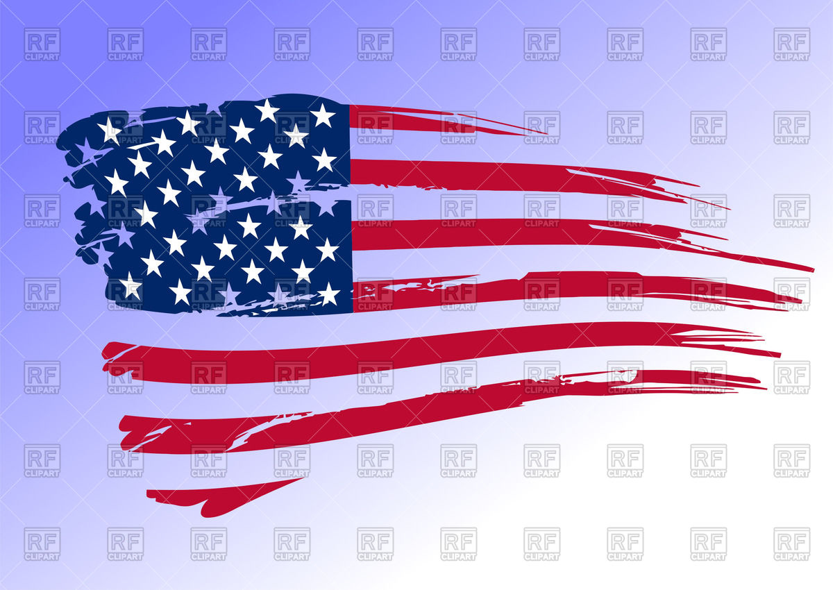Usa Flag Vector Free Download at GetDrawings.com | Free for personal ...