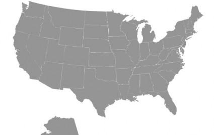 425x269 Us Map Vector Free Vectors Ui Download