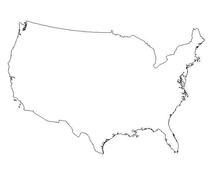 701x565 Outline Of Usa Map Europe Map Hd