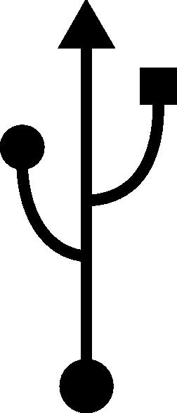 252x587 Usb Device Symbol Clip Art Free Vector 4vector