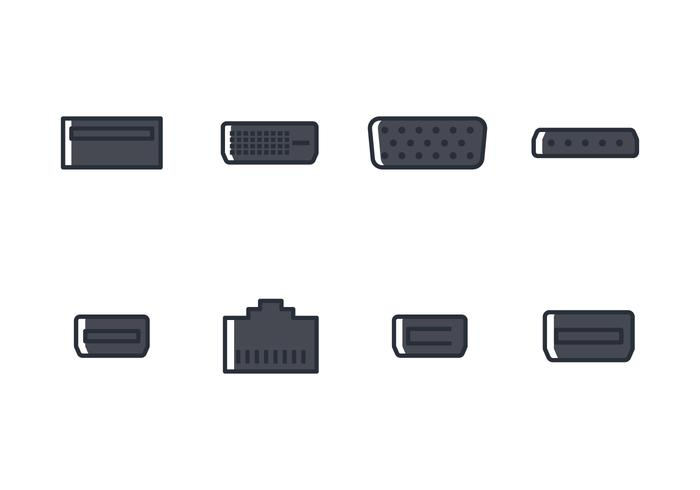 700x490 Usb Free Vector Art