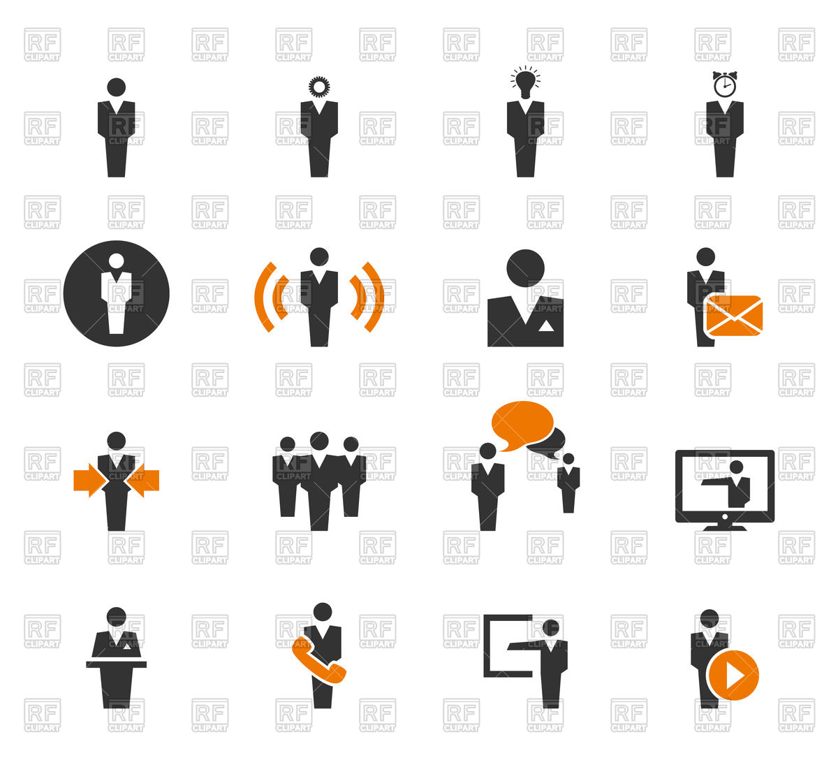 1200x1108 Set Of User Icons Vector Image Vector Artwork Of People