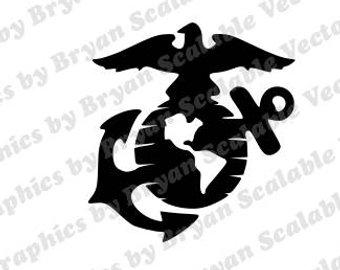 340x270 Marine Svg Etsy