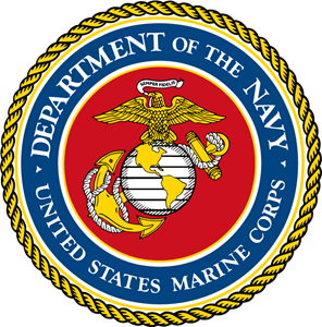 296x300 United States Marine Corps Logo Vector (.eps) Free Download