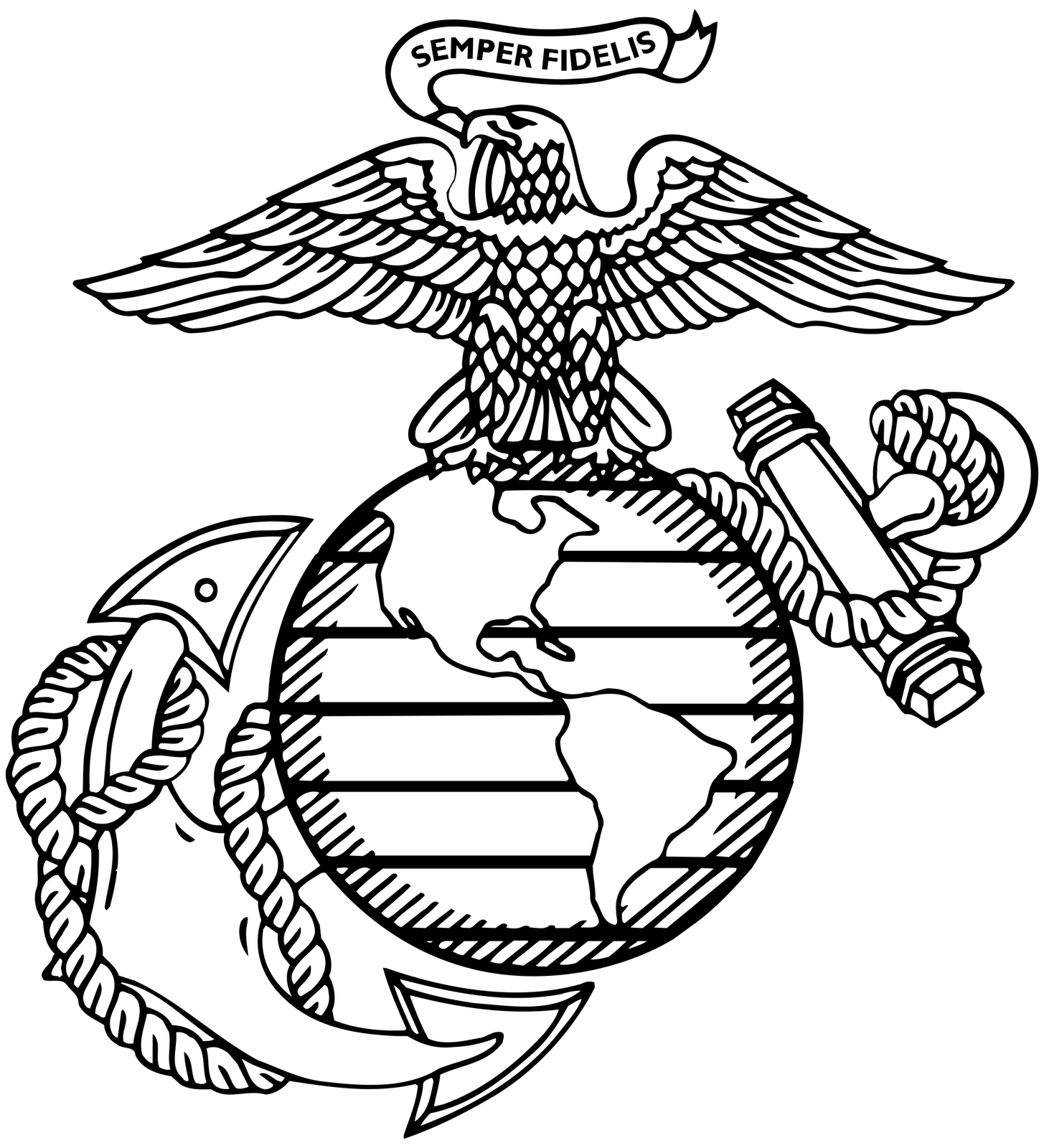 1455x1600 Usmc Logo Vector Art, Free Stock Charts, Free Wallpapers For