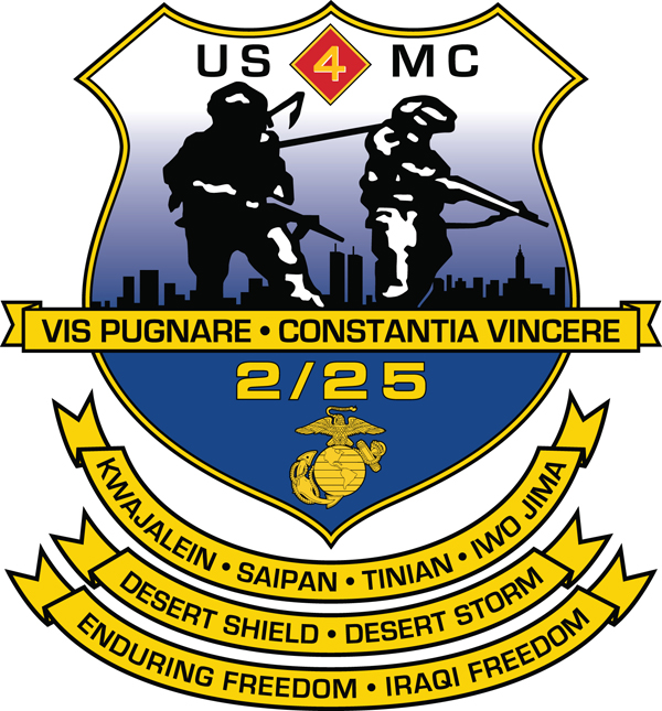 600x645 2nd Battalion, 25th Marines