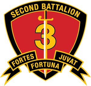 300x283 2nd Battalion 3rd Marine Regiment Usmc Logo Vector (.eps) Free