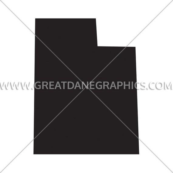 570x570 Utah Silhouette Utah Svg Utah Vector State Svg Svg File Etsy