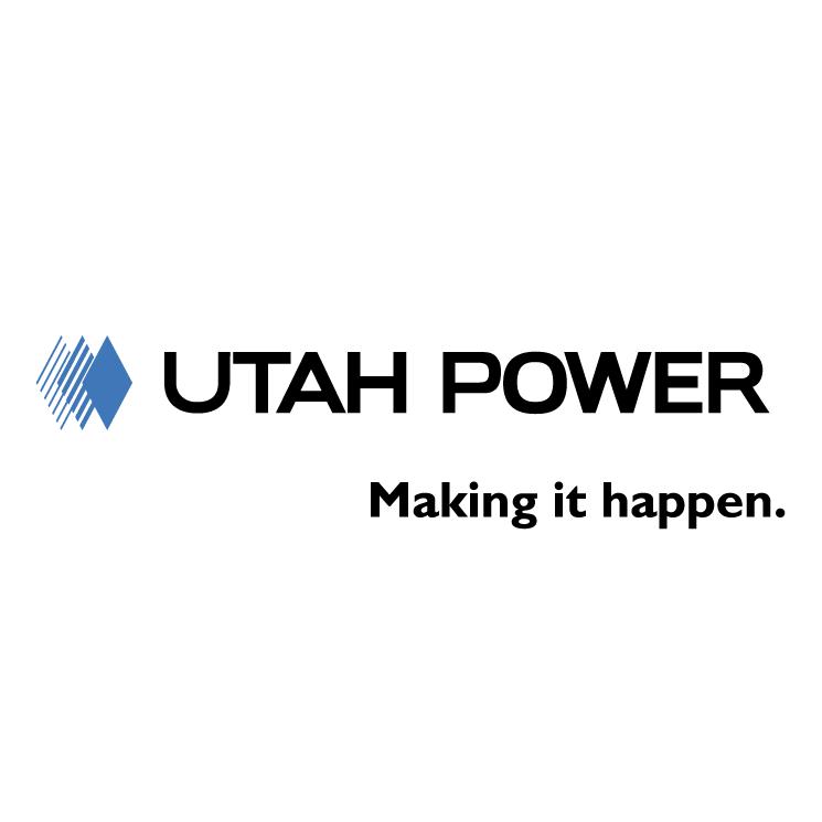 745x745 Utah Power Free Vector 4vector