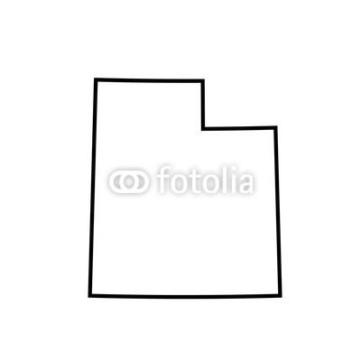 400x400 Map Of Utah. Vector Illustration Buy Photos Ap Images Detailview
