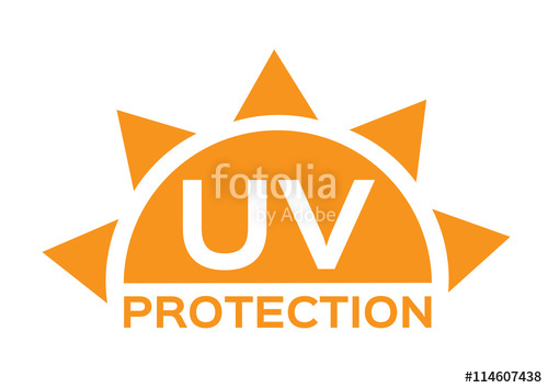 500x354 Uv Protection Logo And Icon , 6 Uv Sets Stock Image And Royalty