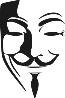 226x340 Results For V For Vendetta Mask Vector Free