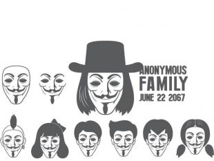 310x233 Anonymous Mask Graphics Free Vectors Ui Download