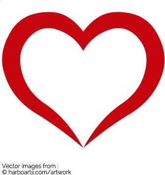 335x355 Download Open Valentine Heart