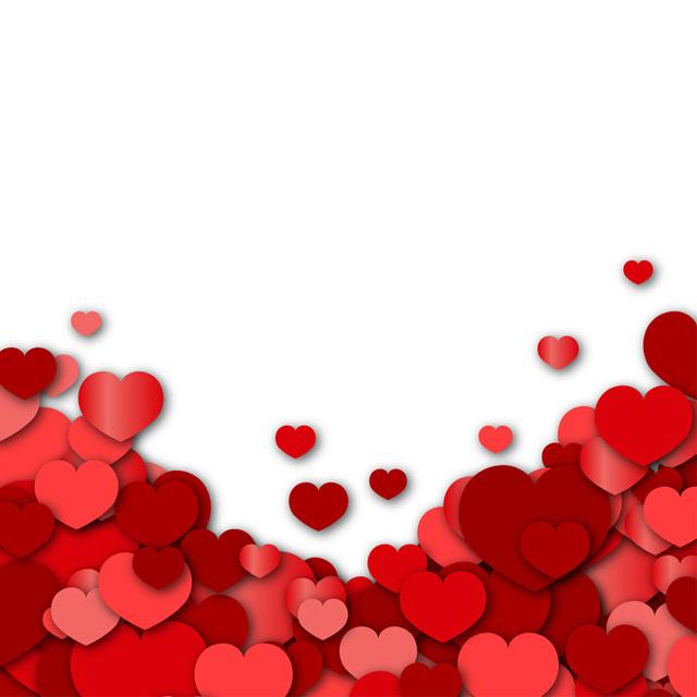 640x640 Valentines Day Background