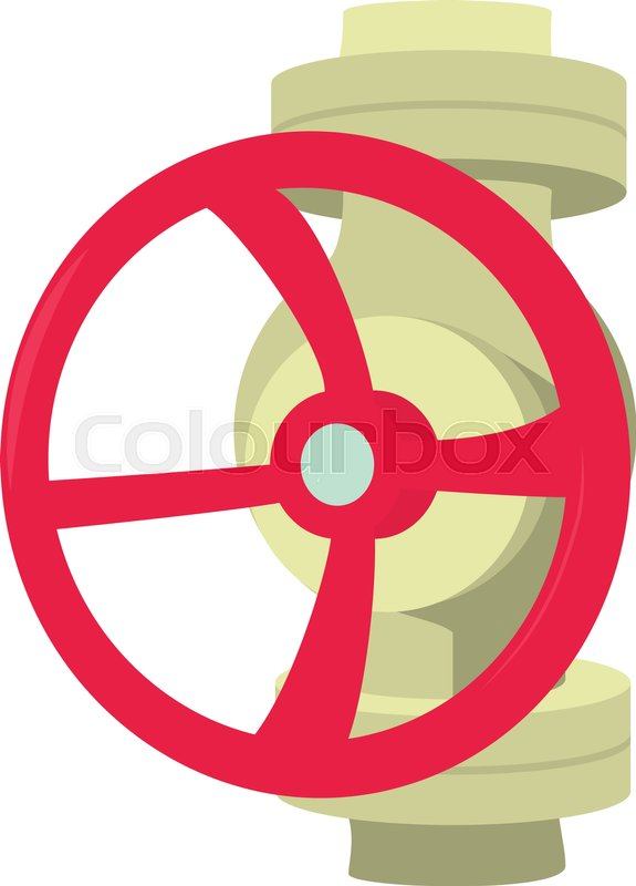 575x800 Valve Icon. Cartoon Illustration Of Valve Vector Icon For Web