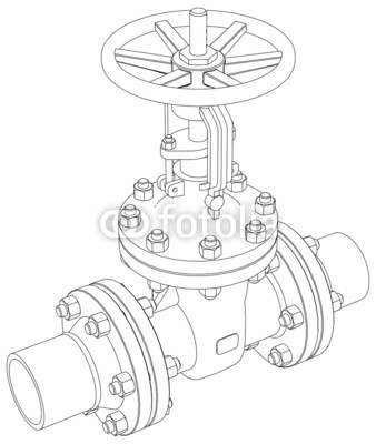 338x400 Industrial Valve. Vector Rendering Of 3d Buy Photos Ap Images