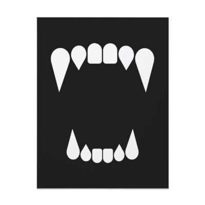400x400 Sharp Teeth Vector