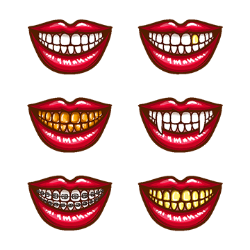 Vampire Fangs Vector At Getdrawings Com Free For Personal Use