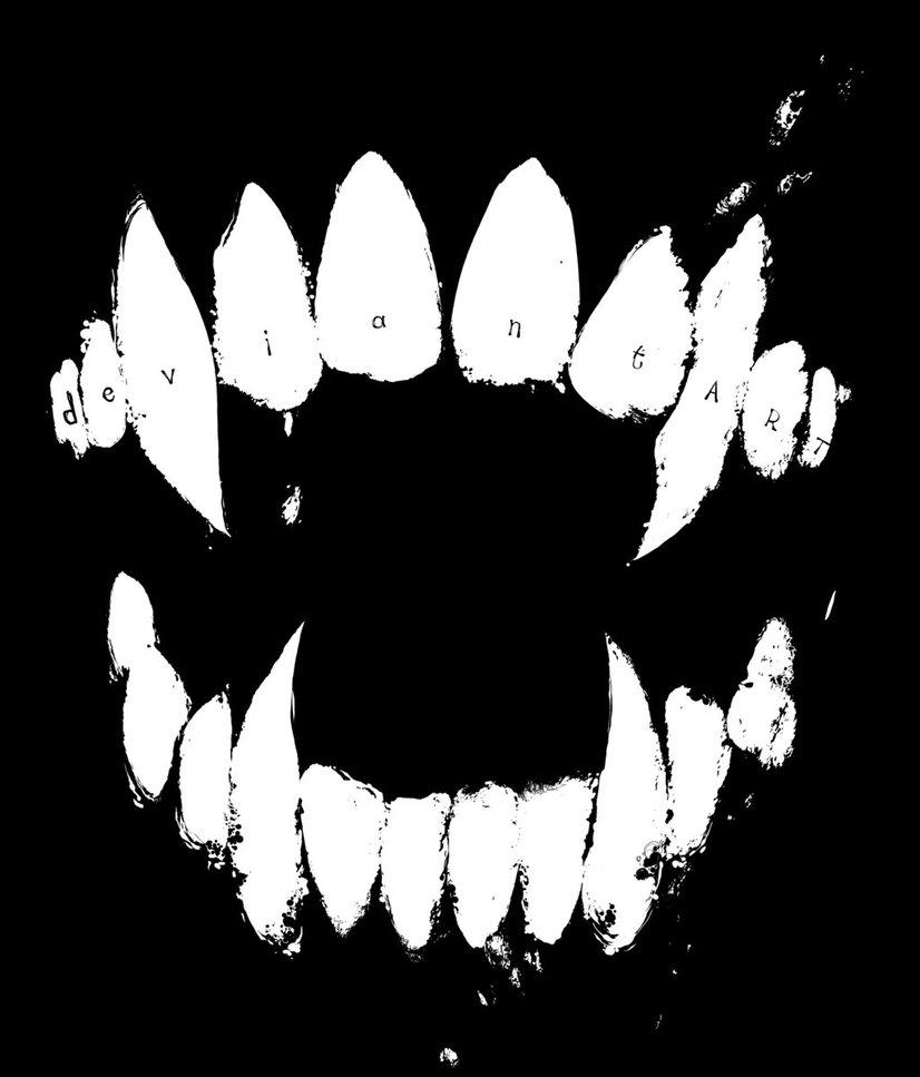 826x967 Vampire Teeth Logos