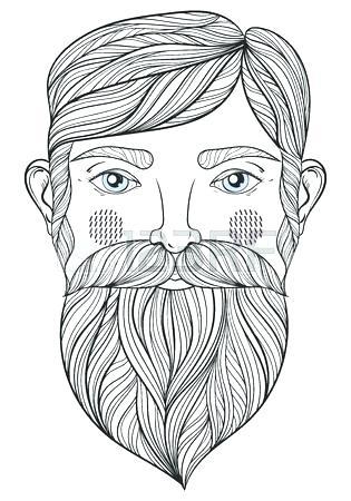 315x450 Portrait Coloring Pages Portrait Coloring Pages Vector Portrait Of